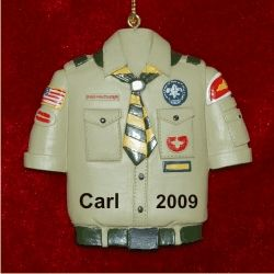 Boy Scout Personalized Christmas Ornament  Christmas ornament