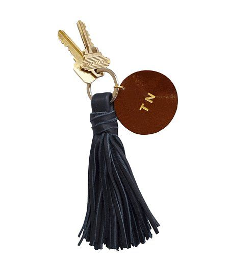 Claire Vivier S Monogrammed Tel Key Chain 40 Popsugar Best Gifts Under 200