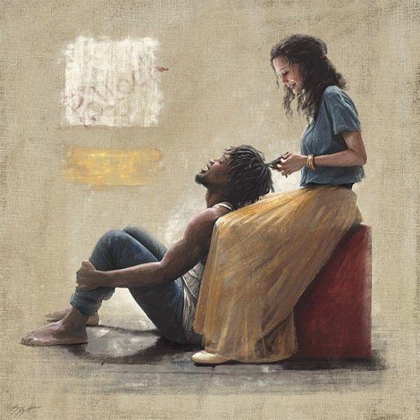afrikansk amerikansk Interracial dejting