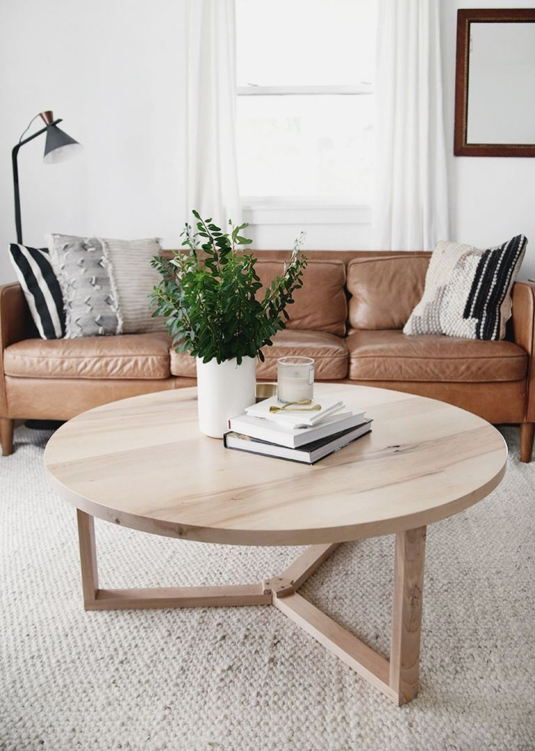 Creative Diy Coffee Tables Round Coffee Table Living Room Round Coffee Table Diy Coffee Table [ 1077 x 768 Pixel ]