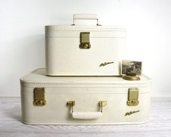 r e s e r v e d ... Vintage Samsonite Lady Baltimore Luggage Set ...