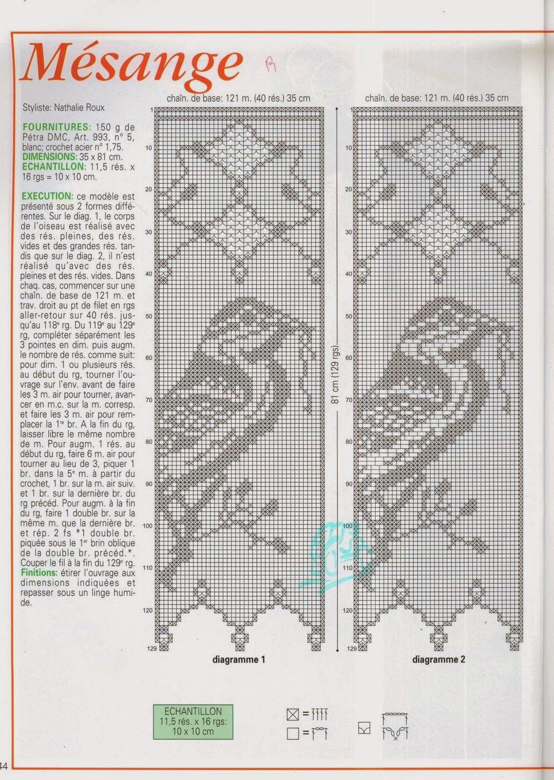 Revista Crochet d\'art completa | tejido | Pinterest | 레이스