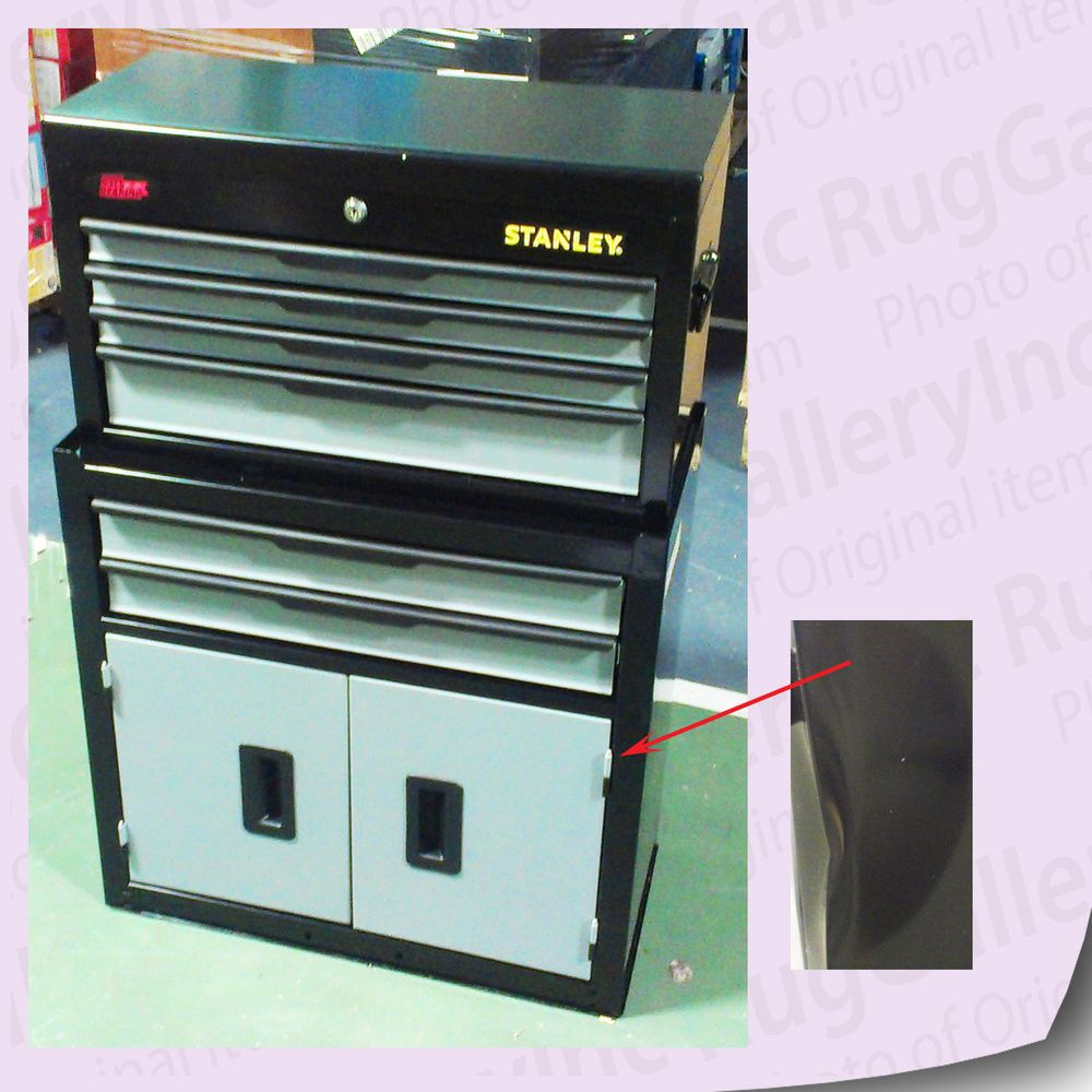 Stanley Professional Tool Chest Rolling Cabinet  Drawer Mechanics Set C Dbs