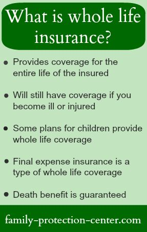 Protecting My Family Whole Life Insurance Life Insurance Facts Life Insurance Quotes
