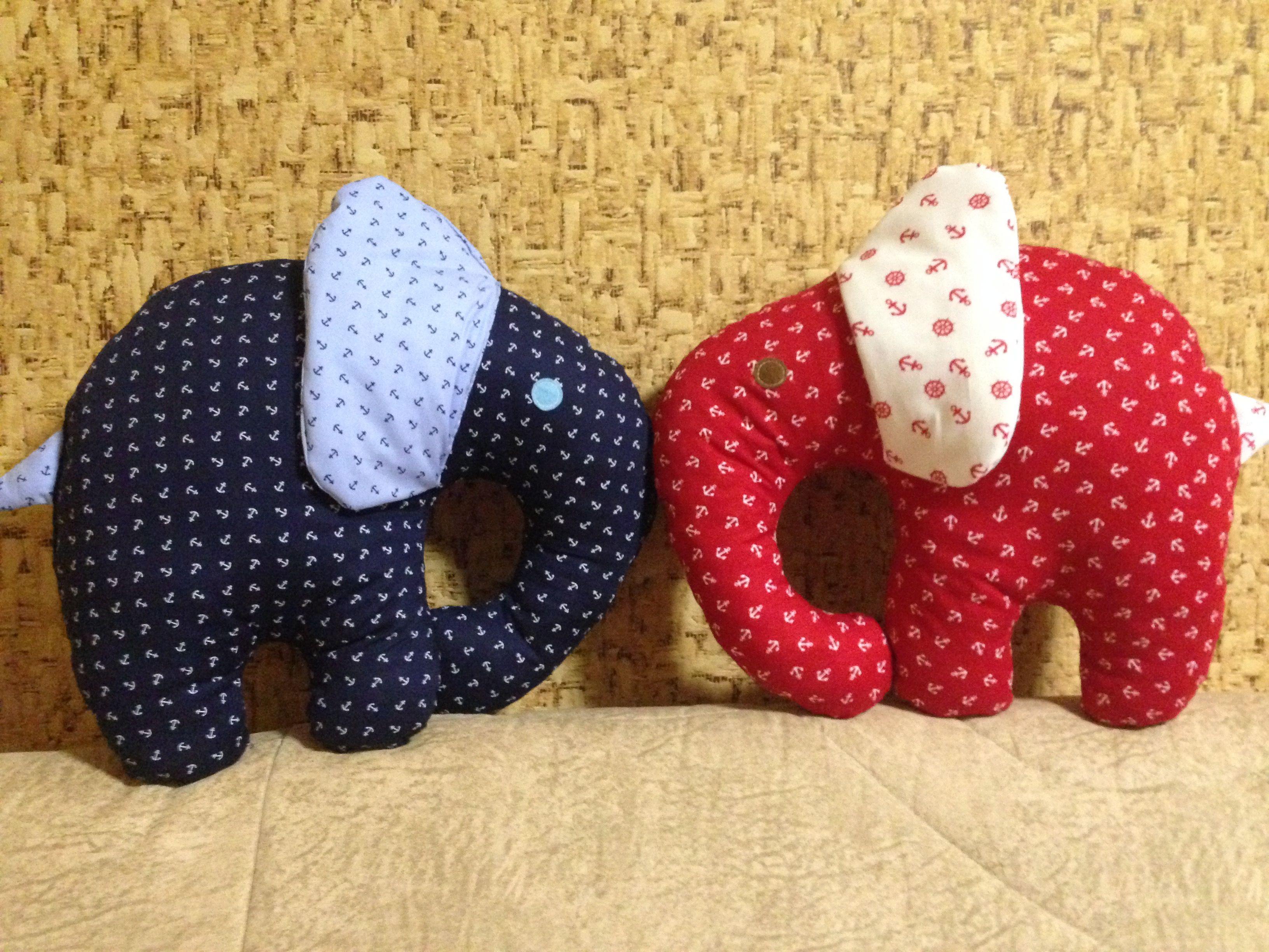 Слоники ... мягкие и воздушные игрушки-подушки