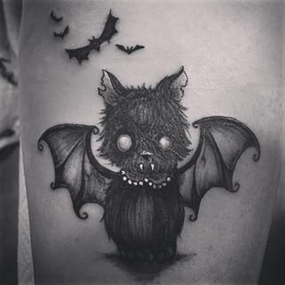 Tattoo Cat Bat Pesquisa Google Cat Tattoo Animal Tattoo Tattoos