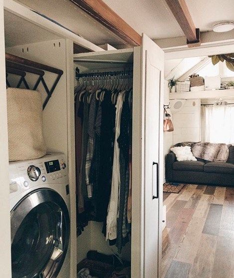 Traveling Nurse and Fiance Build Tiny House Together images