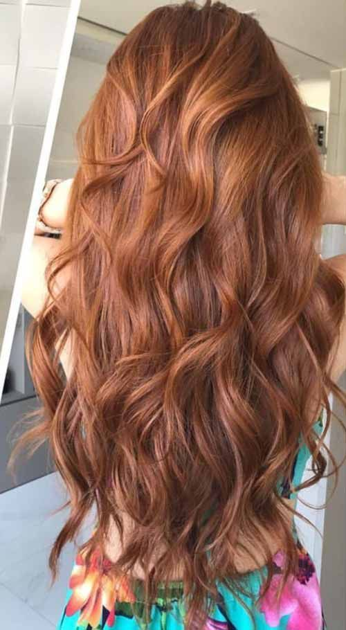 Everyone Loves Redheads Red Long Hair Looks So Fresh Cute And Definitely Beautiful Pretty Hair Color Long Wavy Hair Hair Styles
