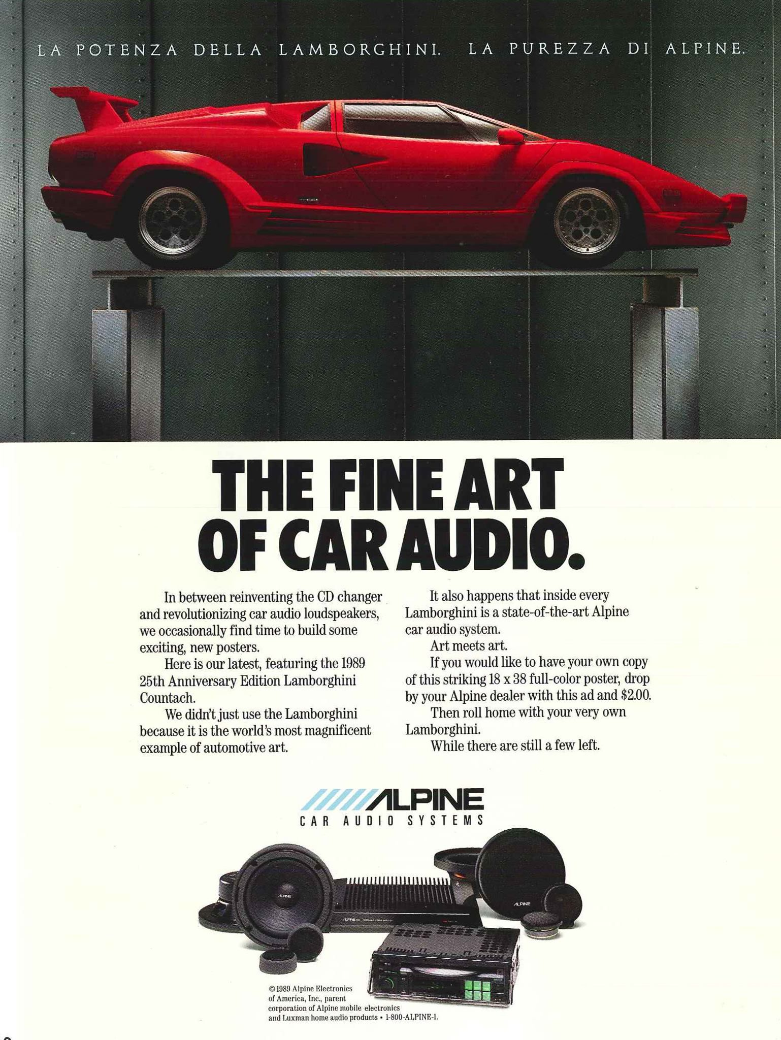 Your Vintage Audio Deals Finds Perpetual Thread Ars Technica The Alpine Car Stereo Thats Pretty Cool Rolo Ive Actually Been Looking At Old Ads And Recalling Lusting After An