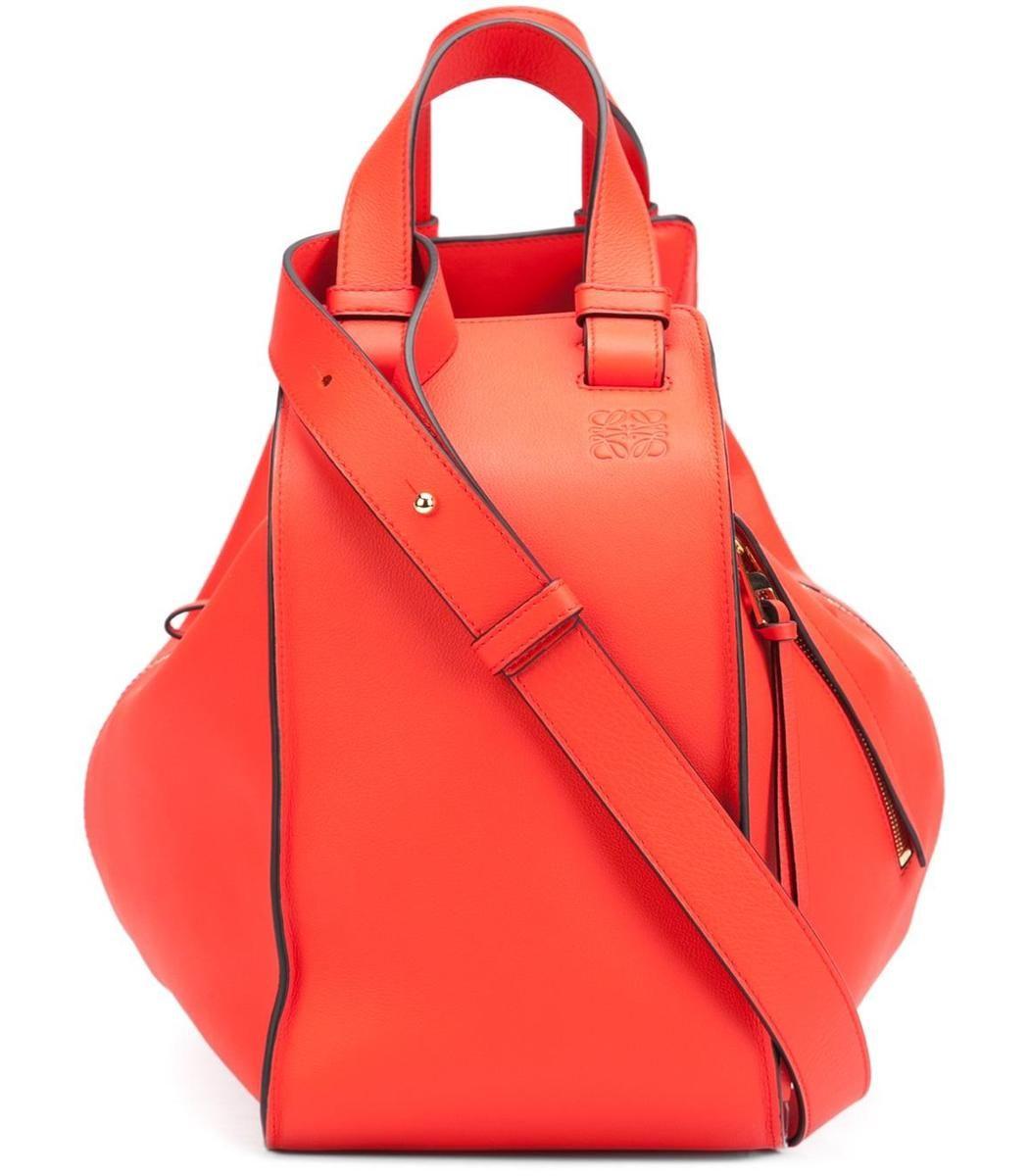 63d0382d66 LOEWE Red  Hammock  Bag.  loewe  bags  leather  hand bags