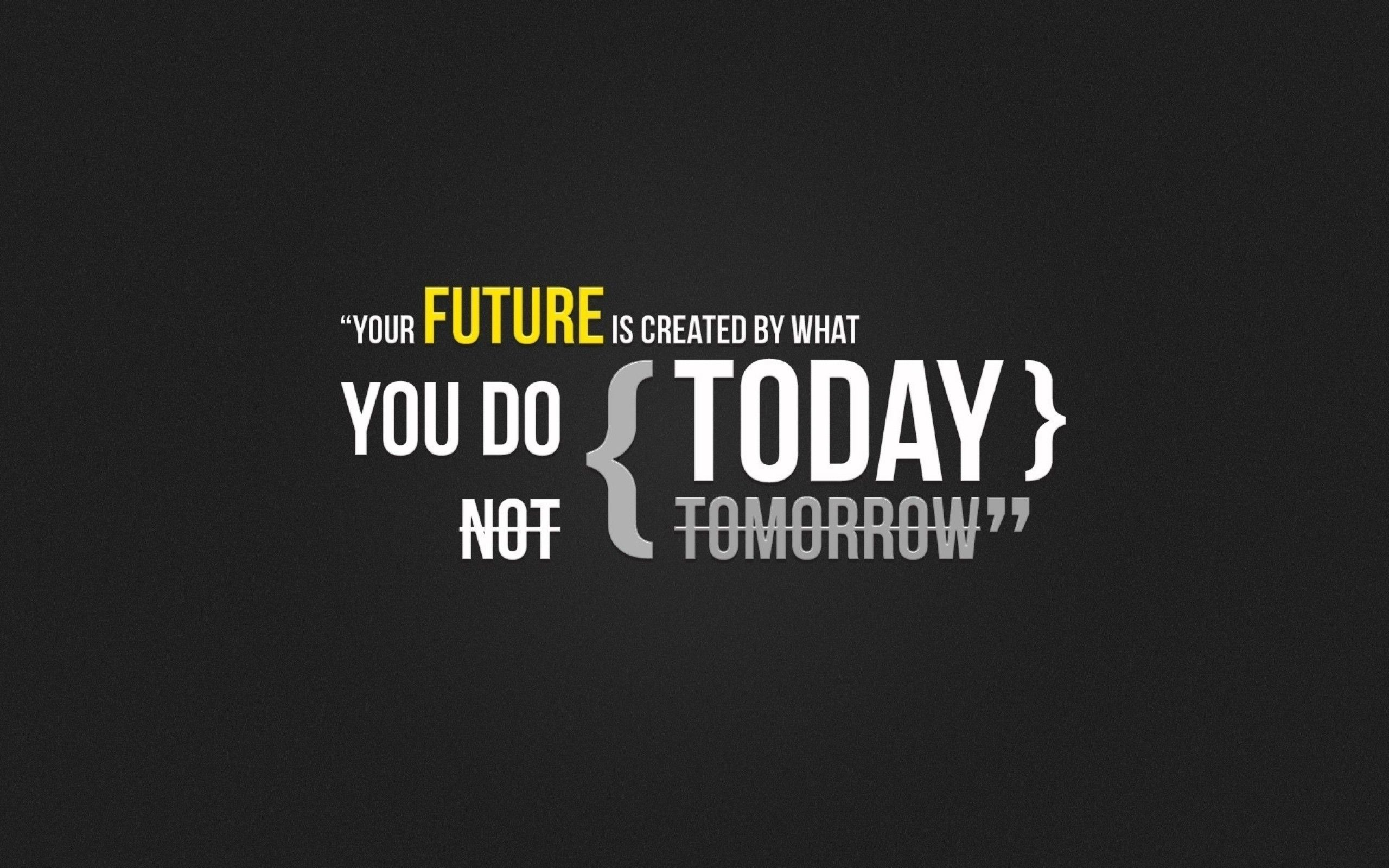 Your Future Is Created By What You Do Today Not Tomorrow 40 Free Motivational And Inspirational Quotes Wallpapers Posters