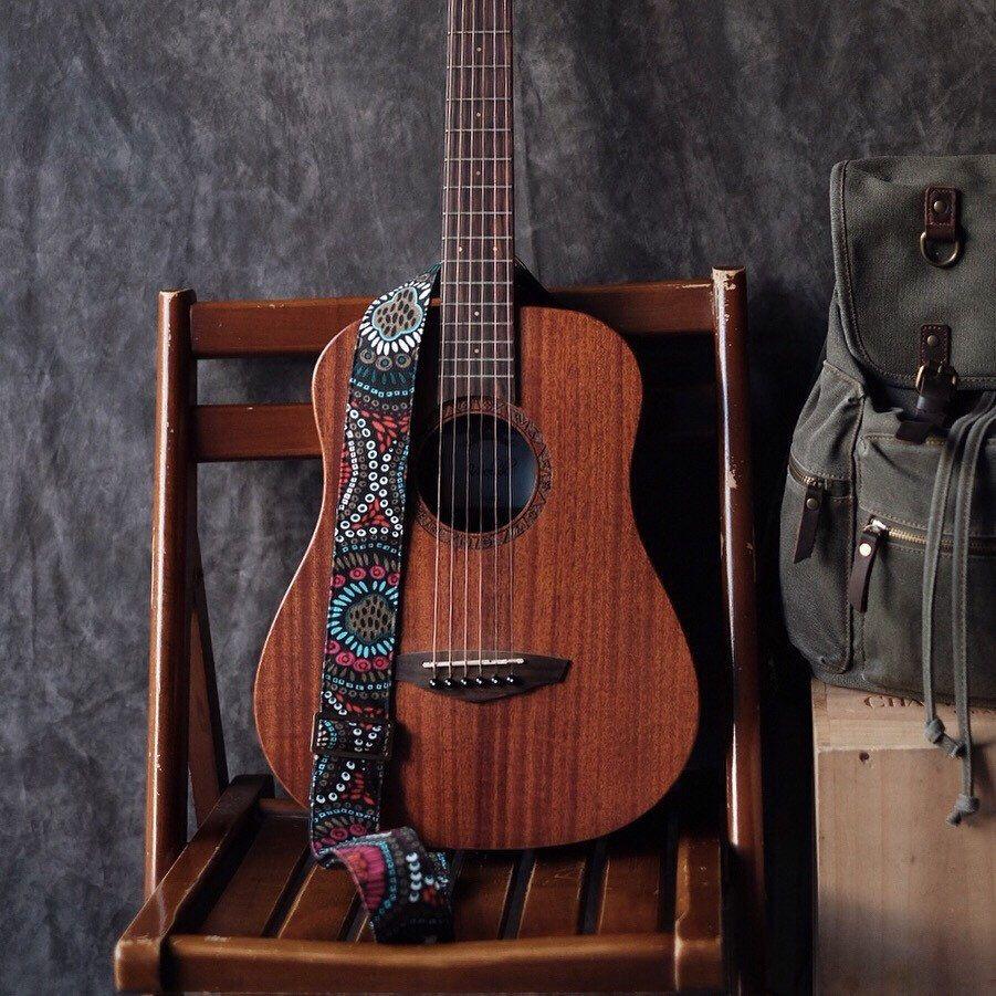 Black Retro Guitar Strap Etsy In 2020 Guitar Strap Acoustic Guitar Photography Acoustic Guitar