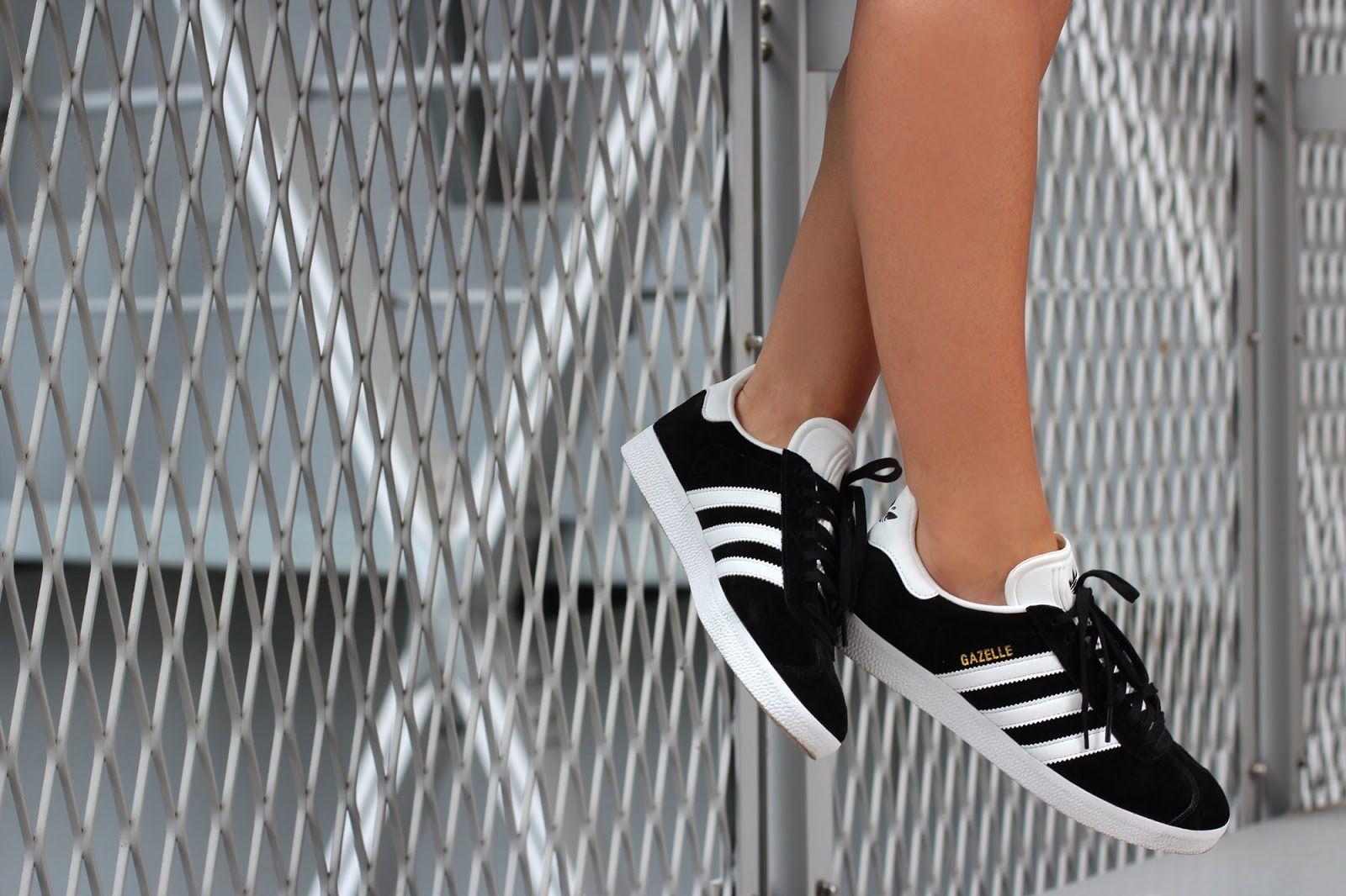 adidas gazelle noir femme courir