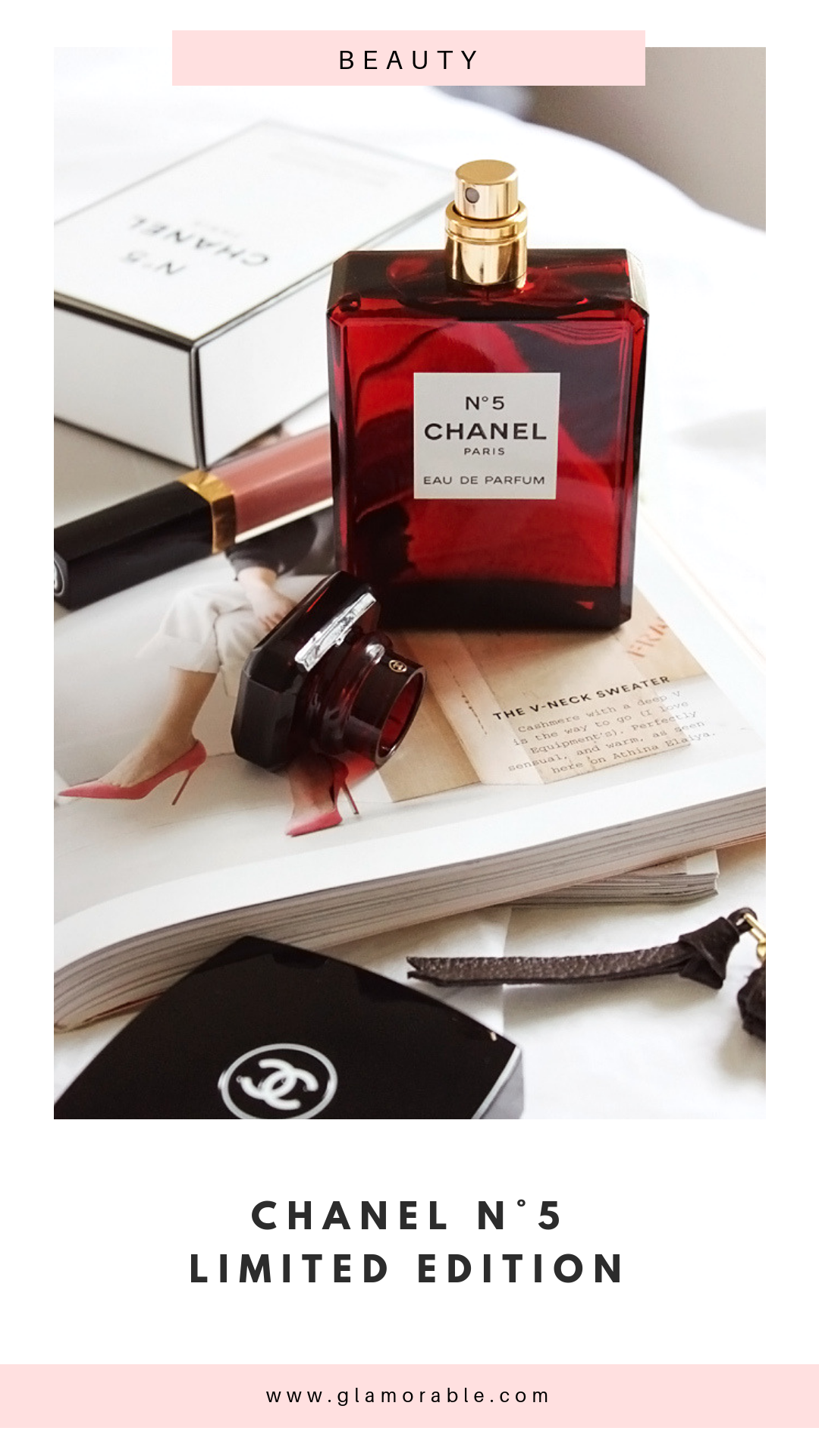 Limited Edition Chanel N5 For Holiday 2018 In Red Bottle Best Of