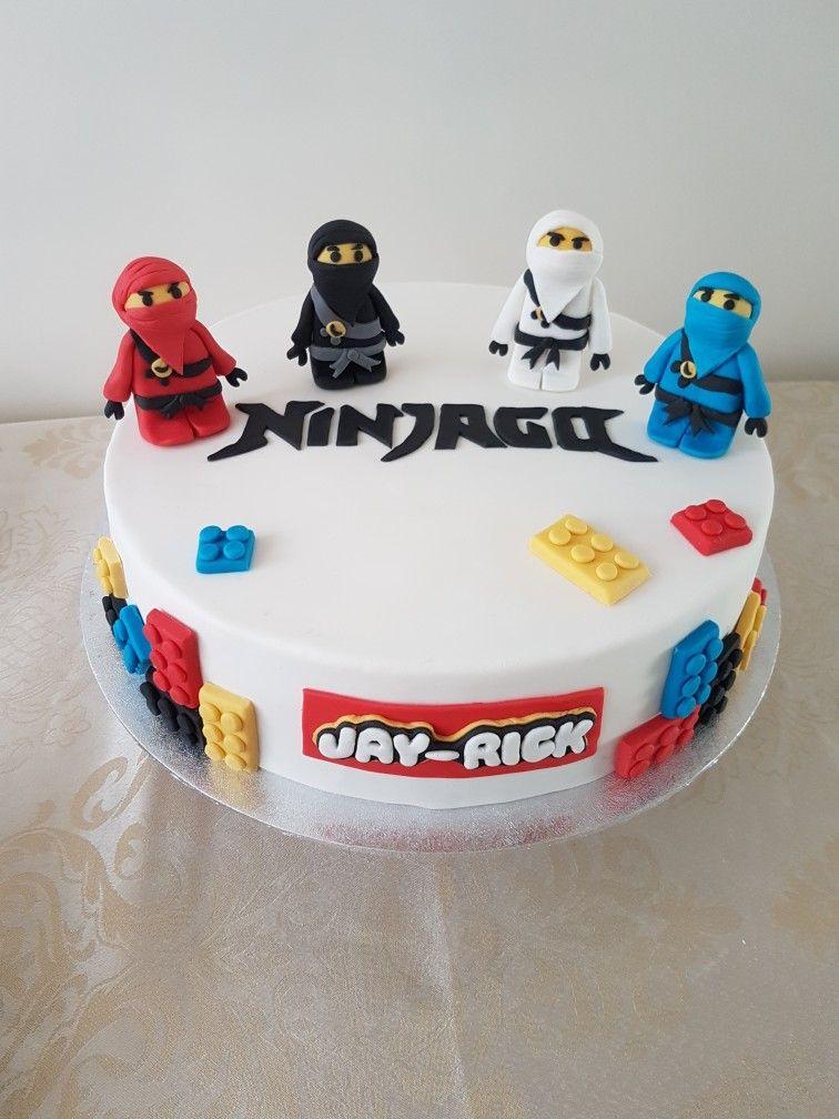 Lego Ninjago Cake Ninjago Cakes Lego Birthday Cake Lego