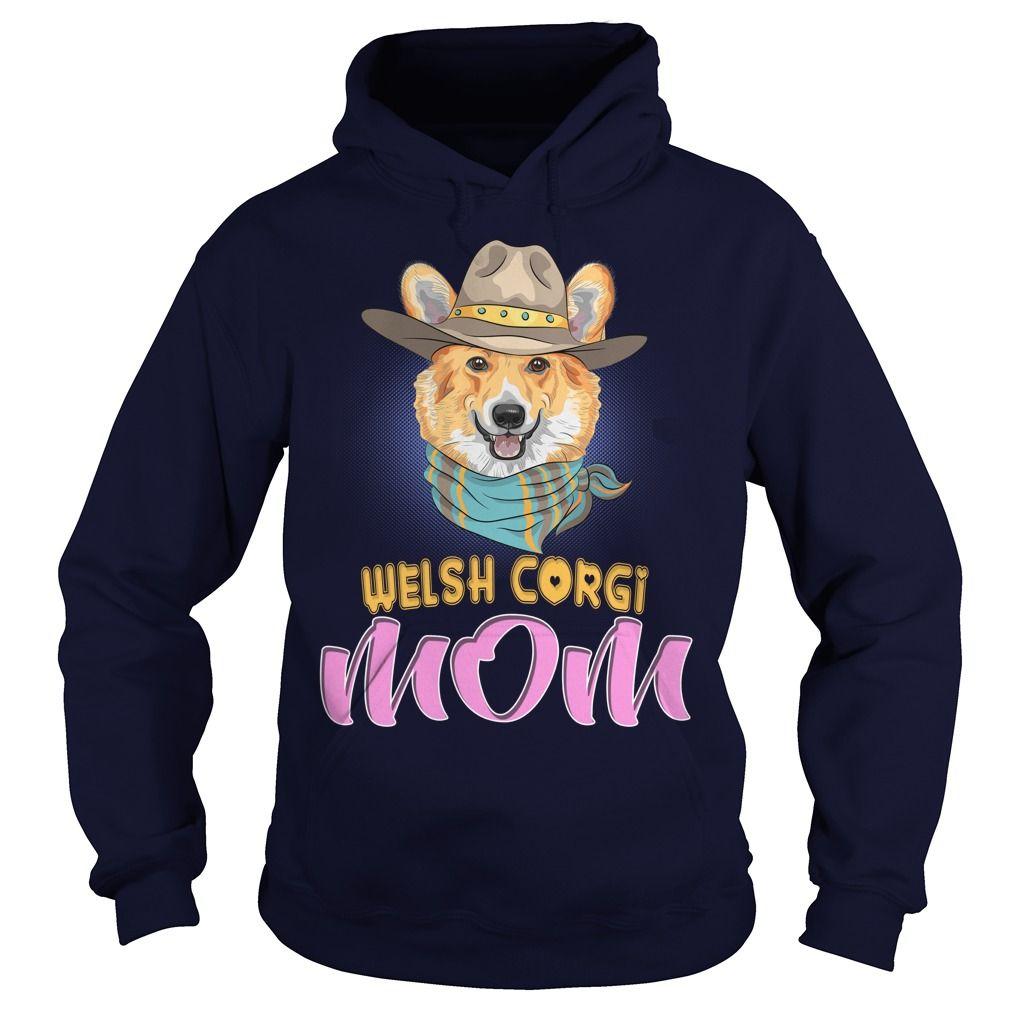 Hipster Dog Pembroke Welsh Corgi Mom