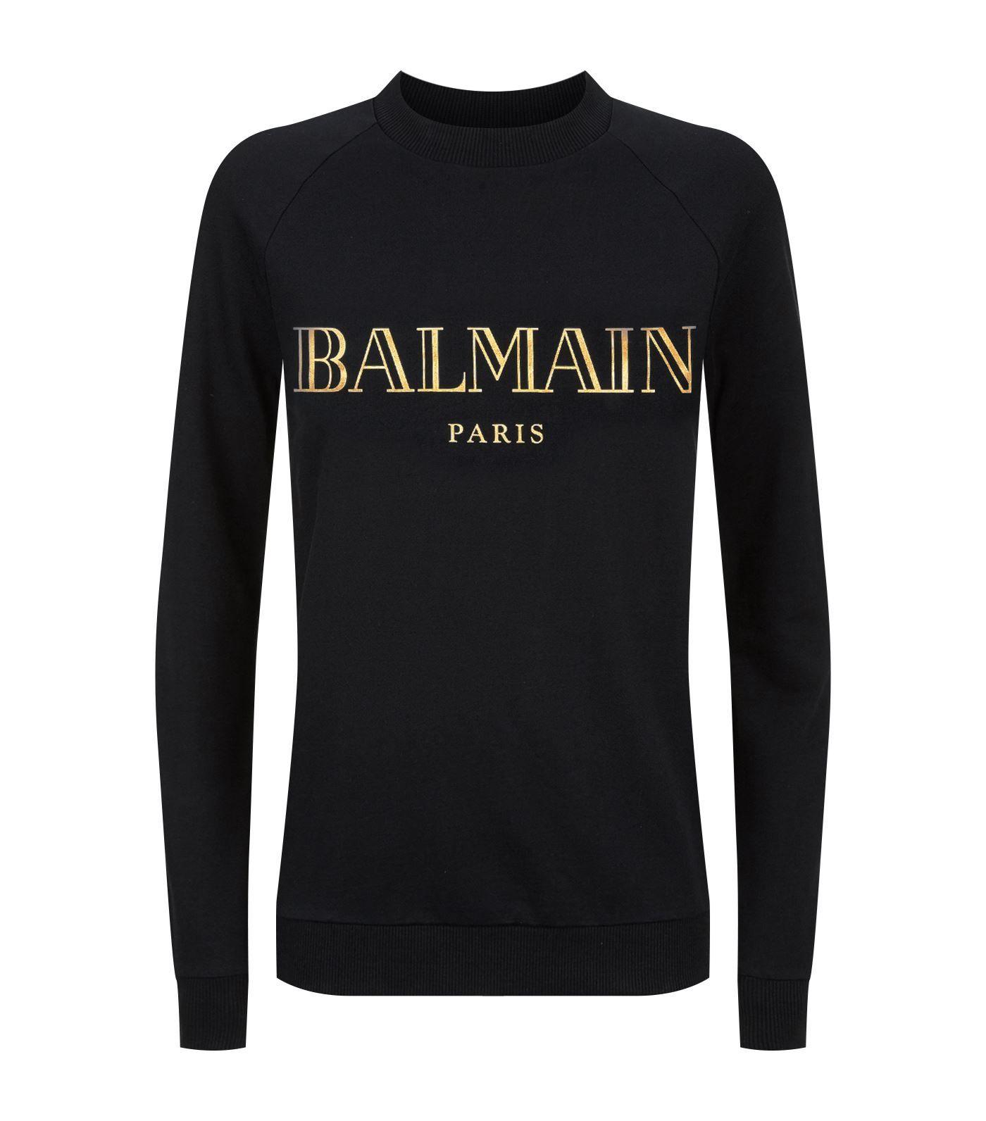 426e414a Logomania Bergdorf Goodman, Vogue, Balmain, Neckline, Glitter, Denim,  Cotton,