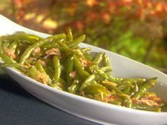 Sauteed Bacon and Steamed String Beans recipe from Emeril Lagasse via Food Network