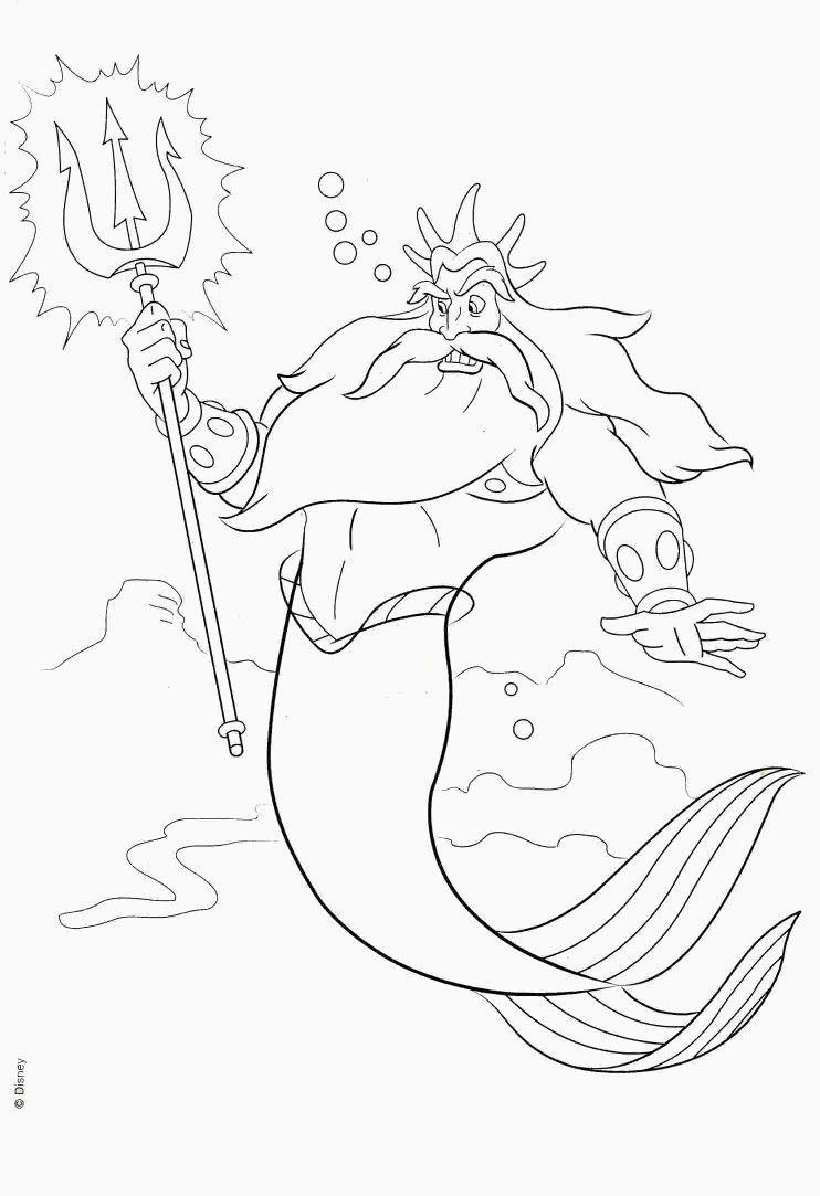 Pin De Cj Smalley En Disney Coloring Pages Sirenas Sirena