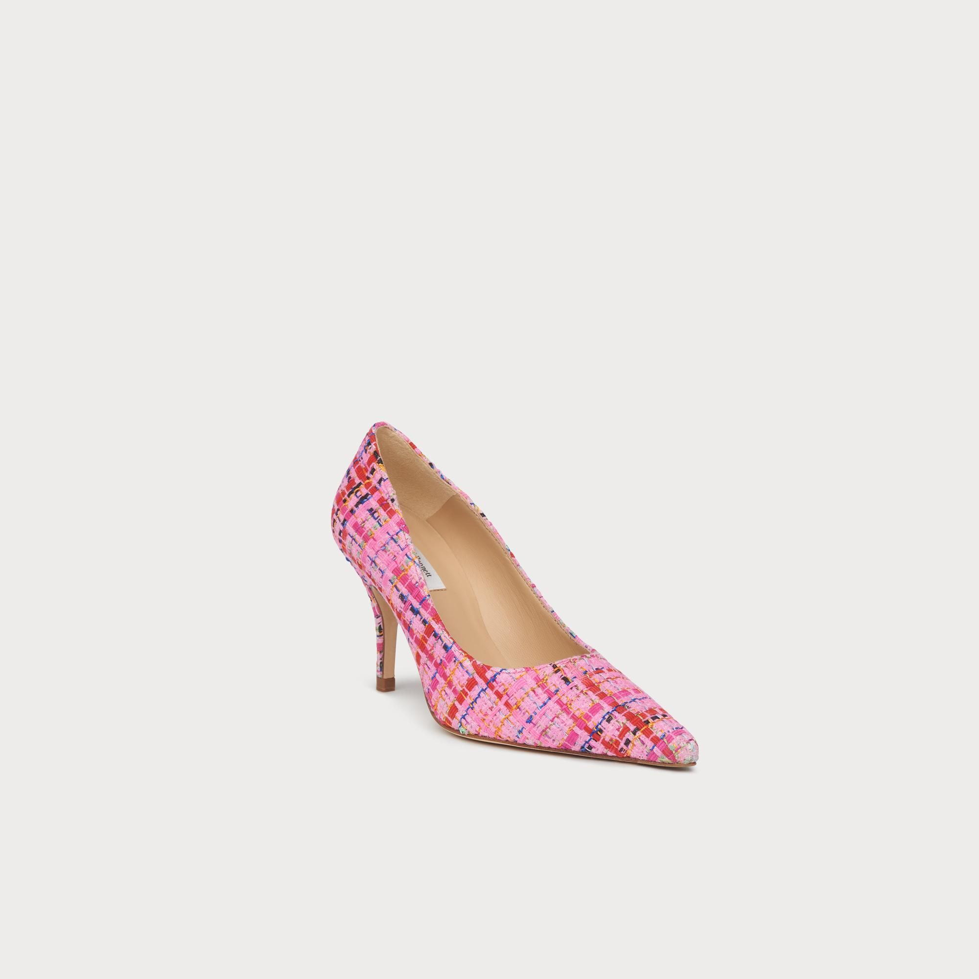 628295f7e Harmony Pink Tweed Pointed Toe Courts | Shoes | L.K.Bennett (affiliate)