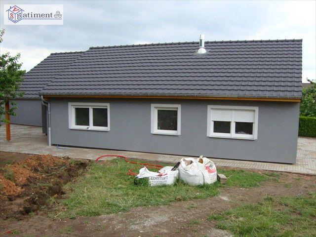 Rénovation maison du0027habitation - Avec extension arrière Façades