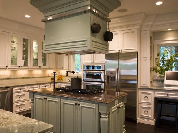 Kitchen Island Accessories Pictures  Ideas From Hgtv, Kitchens