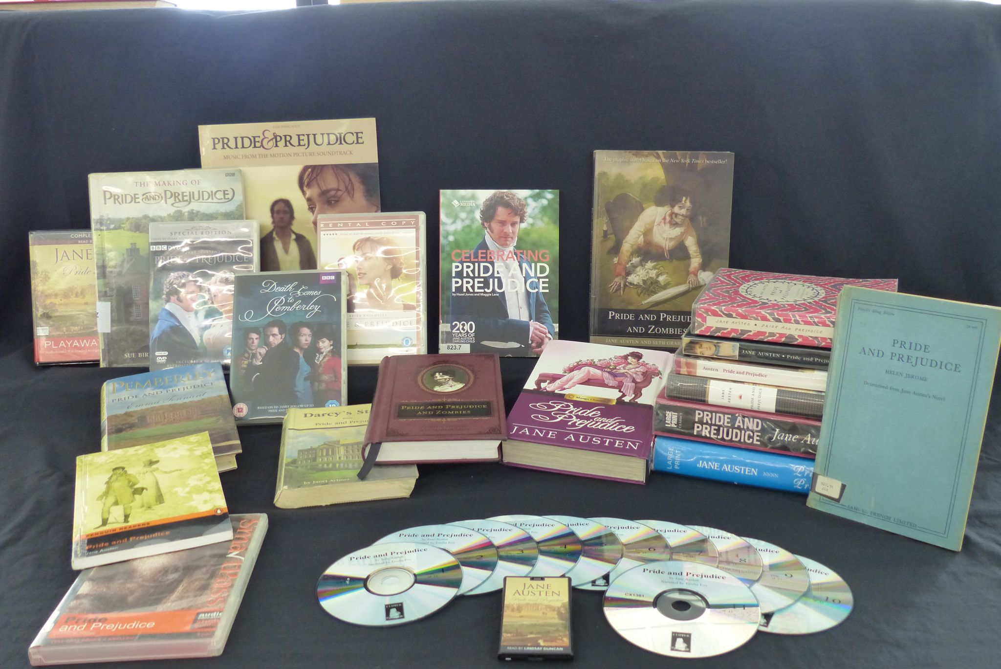 Pride & Prejudice several different ways. LibrariesWest versions in all formats.