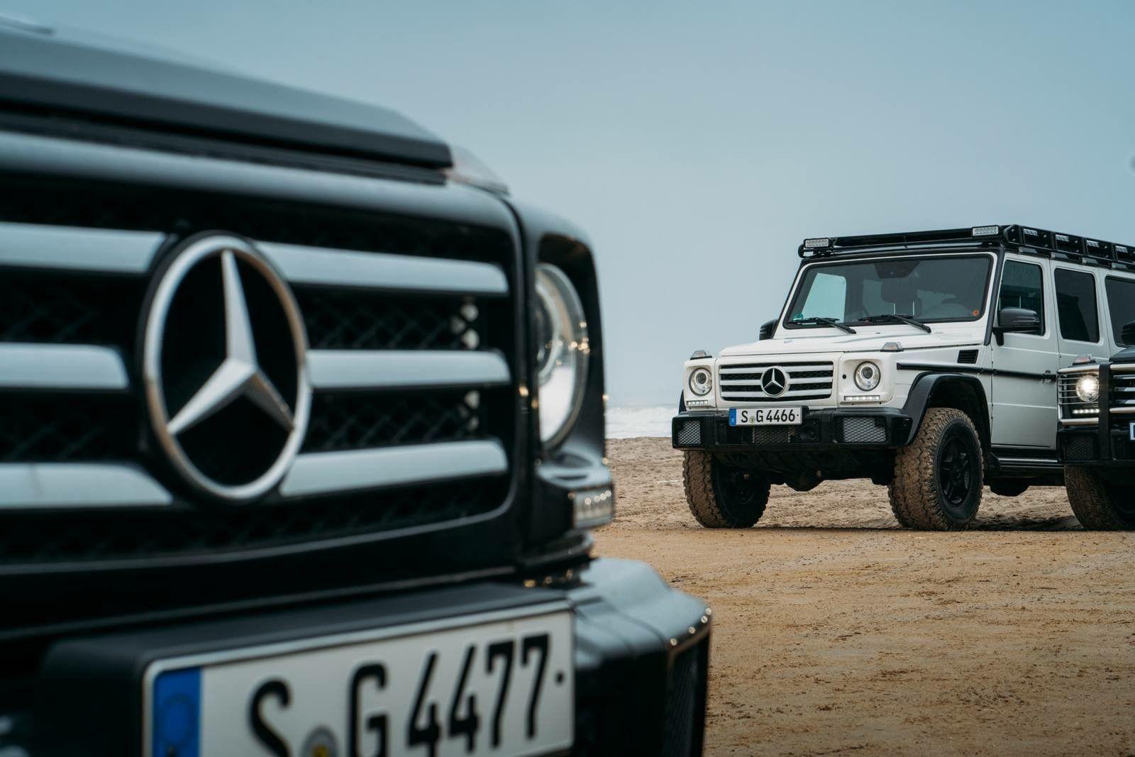 Mit Der Mercedes Benz G Klasse Um Die Welt Auftakt Neuen Horn Expedition