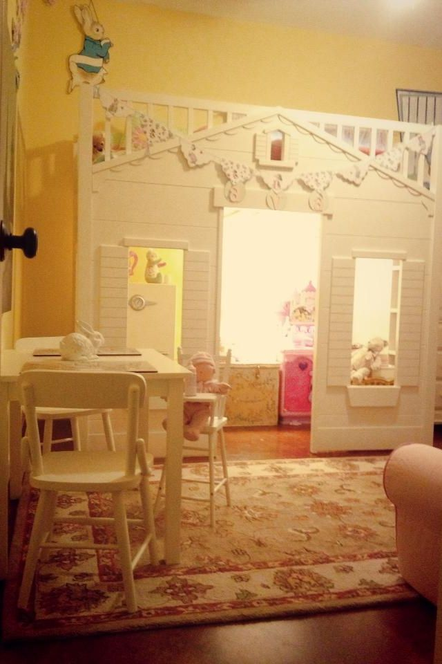 Pottery Barn Kids Cottage Loft Bed For My Daughter S Peter