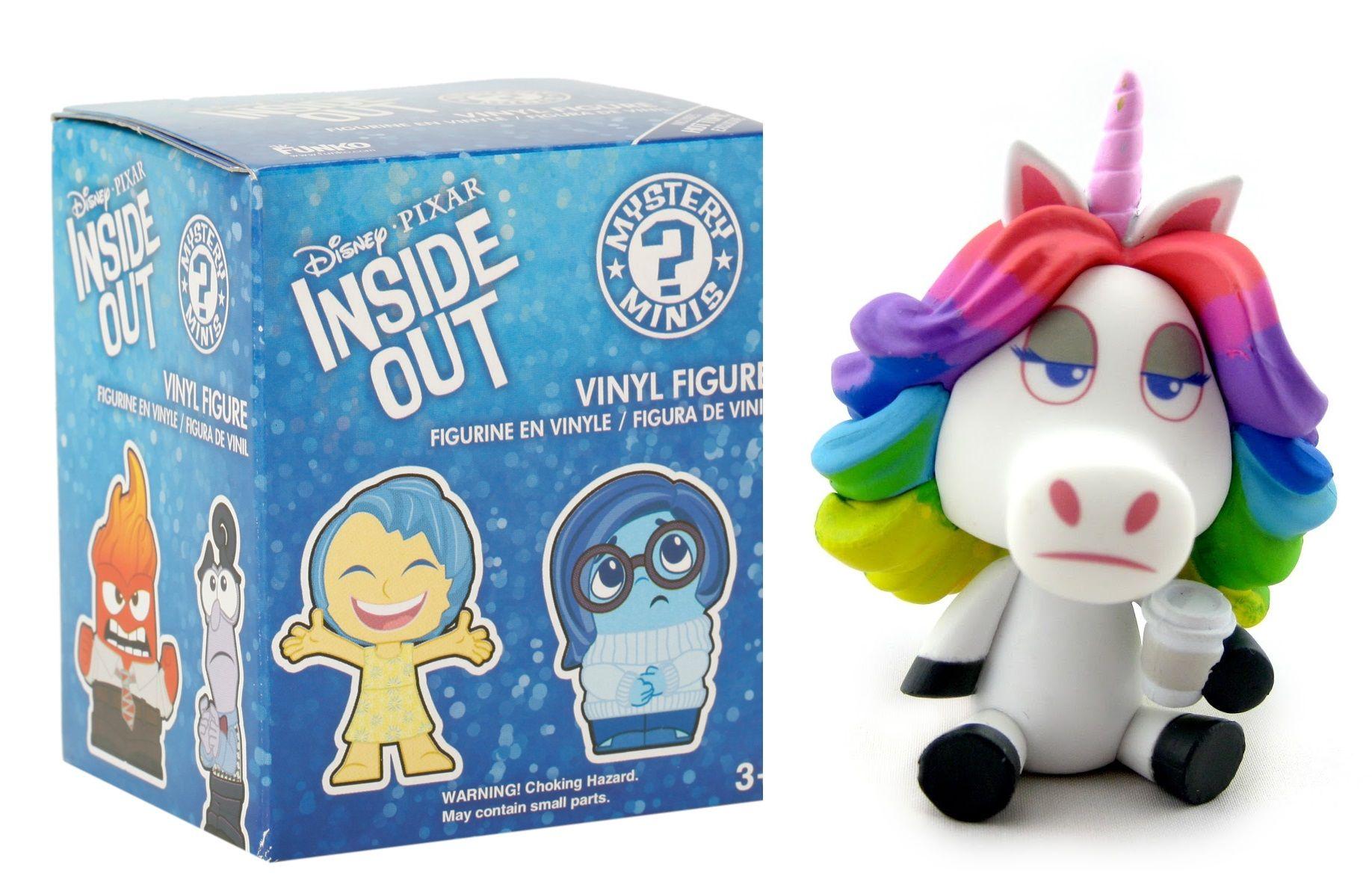 4a16e562e1f Disney Pixar Inside Out Funko Mystery Mini Rainbow Unicorn Vinyl Figure
