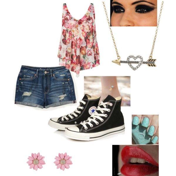 fe2254122 Cute teen summer outfit