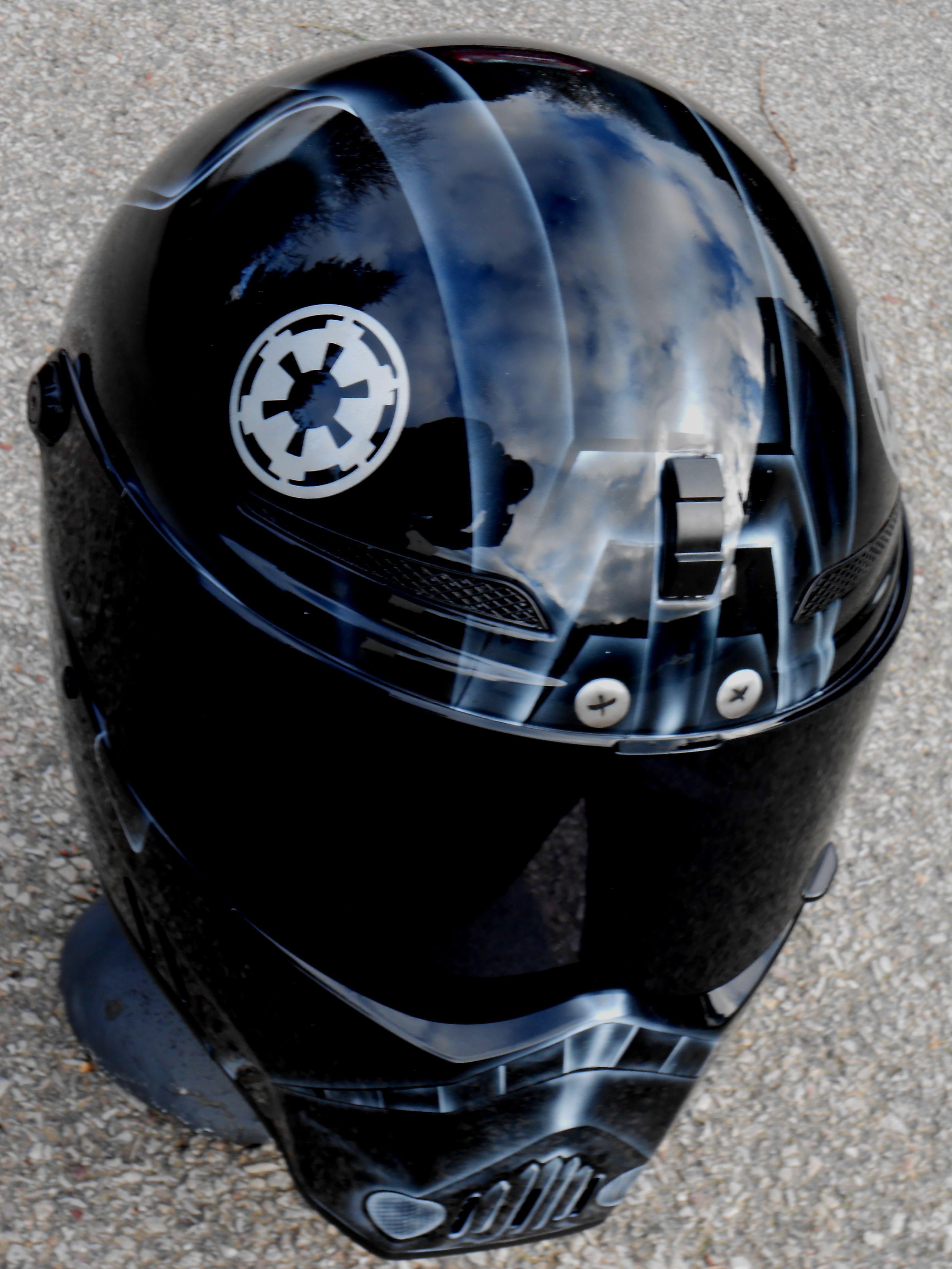 bandit helmet airbrush starwars, tie fighter pilot ... Tie Fighter Pilot Helmet