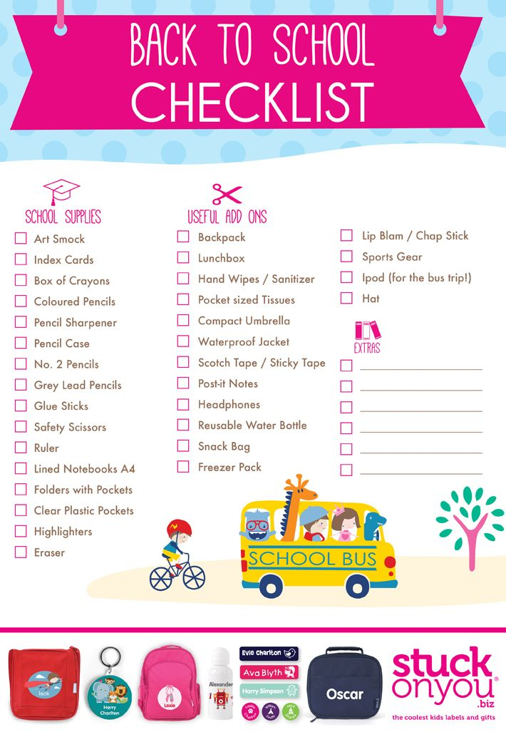 35 Back to School Printables - Yellow Bliss Road