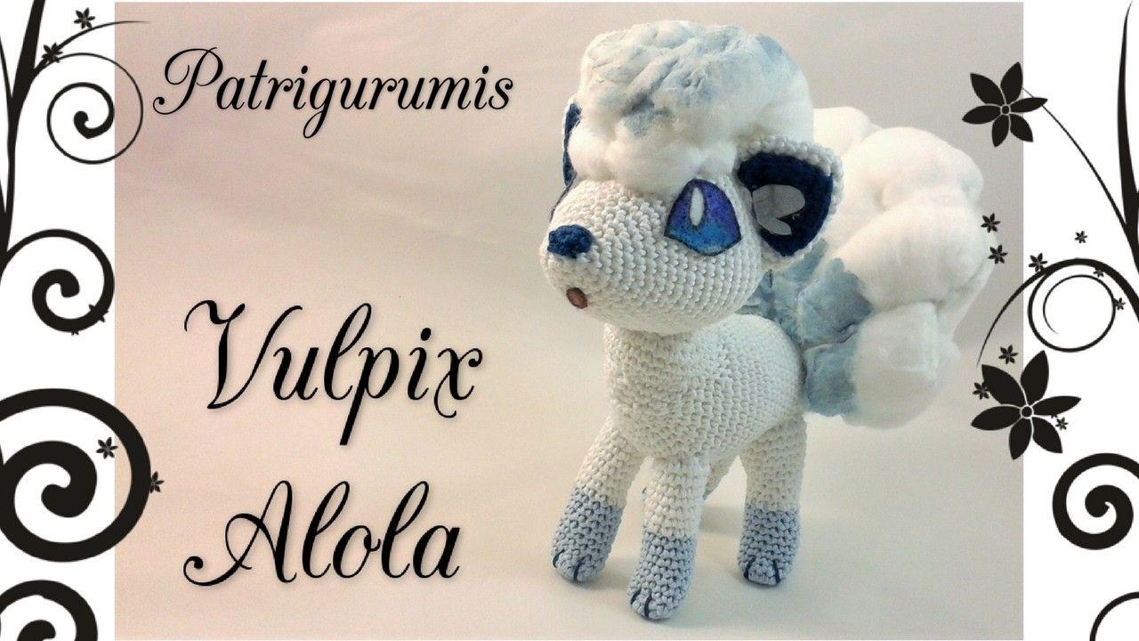 AMIGURUMI VULPIX ALOLA - POKEMON | Amigurumi, Pokémon and Crochet
