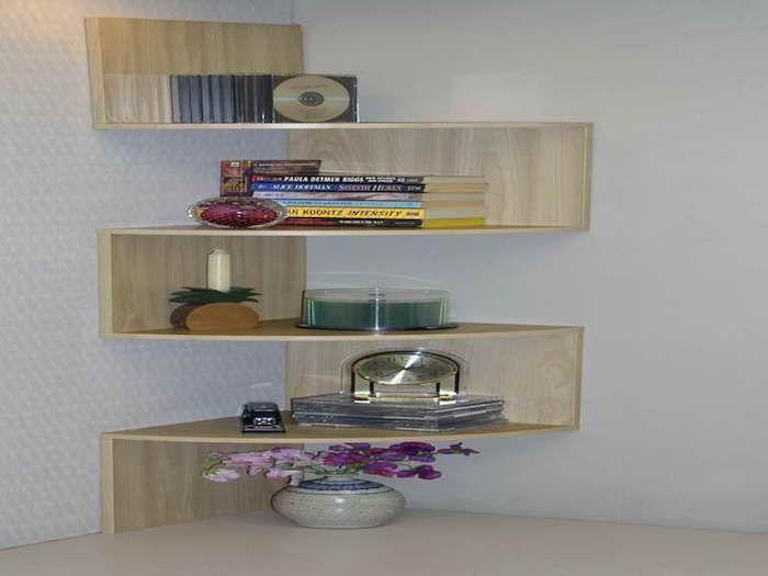 1001 Idées Divers étagère Mobilier De Salon Et Etagere Angle