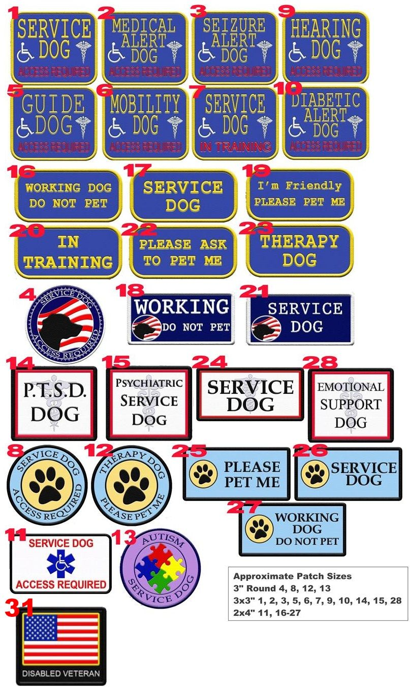 Service Or Therapy Dog Vest With Built In Id Badge Holder And Zipper Pocket Service Dog Vests Service Dog Patches Service Dogs Gear