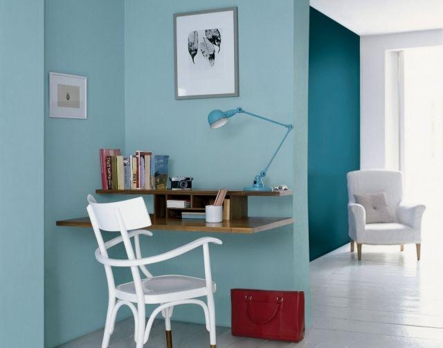 combina el azul cielo con tonos como el turquesa para inundar de estilo tu hogaru