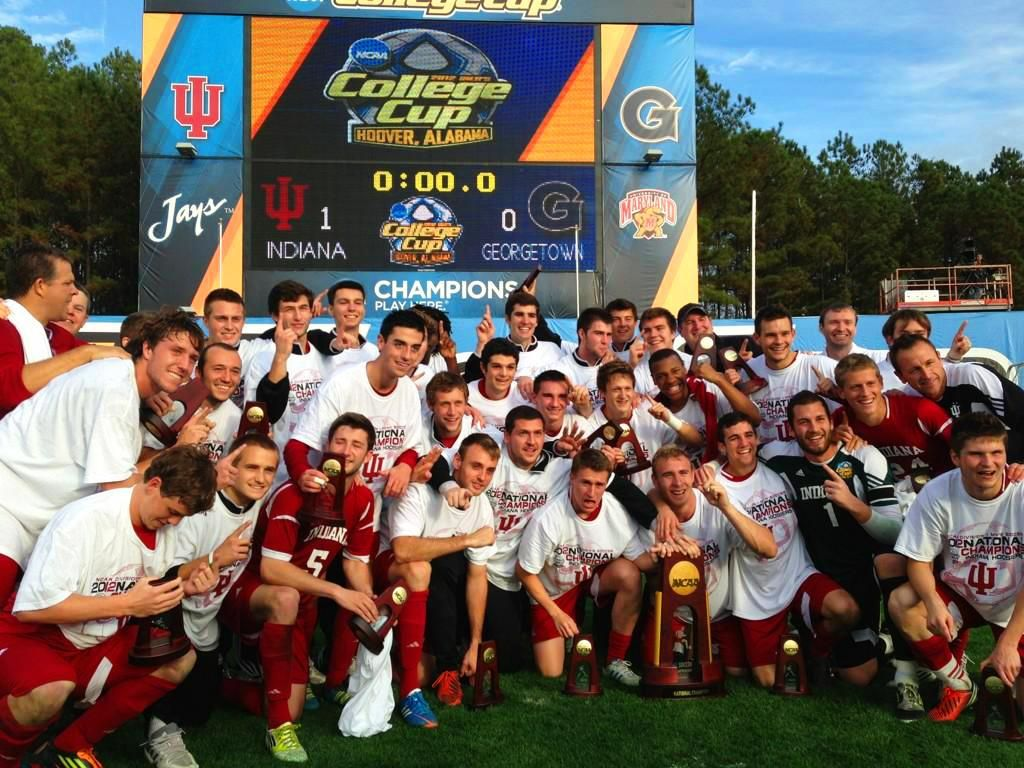 IU men's soccer team defeated Georgetown 1-0 in the ...