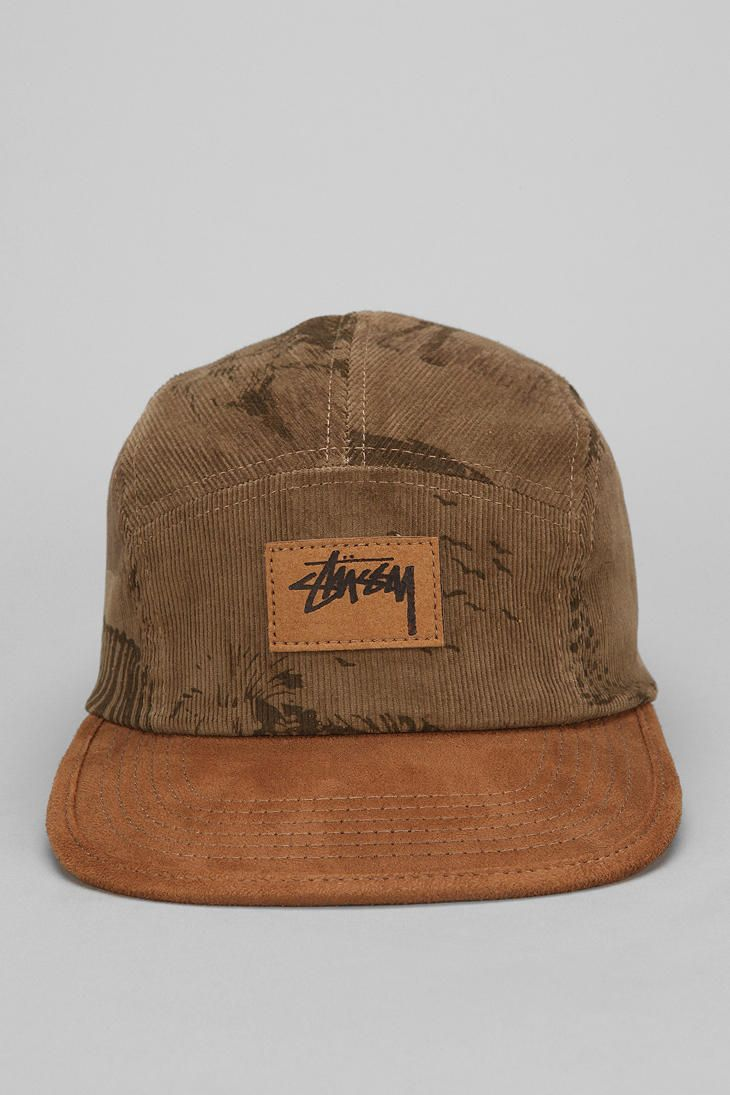3827b0c7072 Stussy Savannah Corduroy 5-Panel Hat