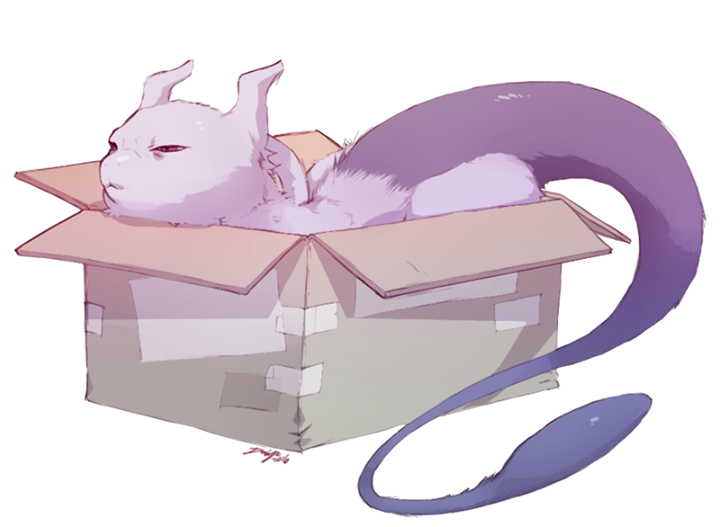 Mewtwo Just Chillin Doin Typical Cat Things