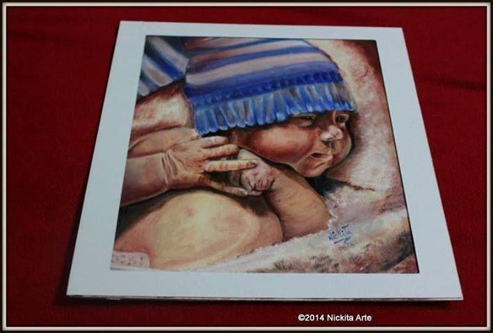 Obra: Holdem (Hijo de Howie D Backstreet Boys) Tecnica Oleo  Medidas Fibro facil 30 x 30 Año 2013  Replica