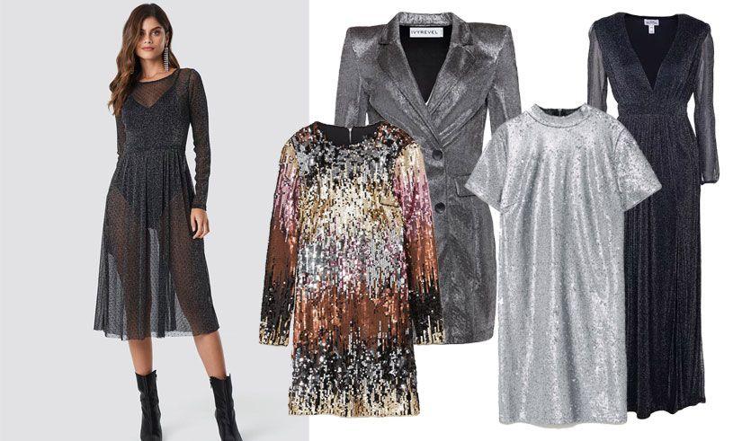 ... 2018 av Metro Mode. Glittriga klänningar till nyårsafton! 5214d98cd5a89