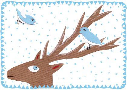 Kerstkaarten te koop bij redlobster.be Redlobster | Grafische vormgeving - Webdesign - Illustratie | Kerstkaarten