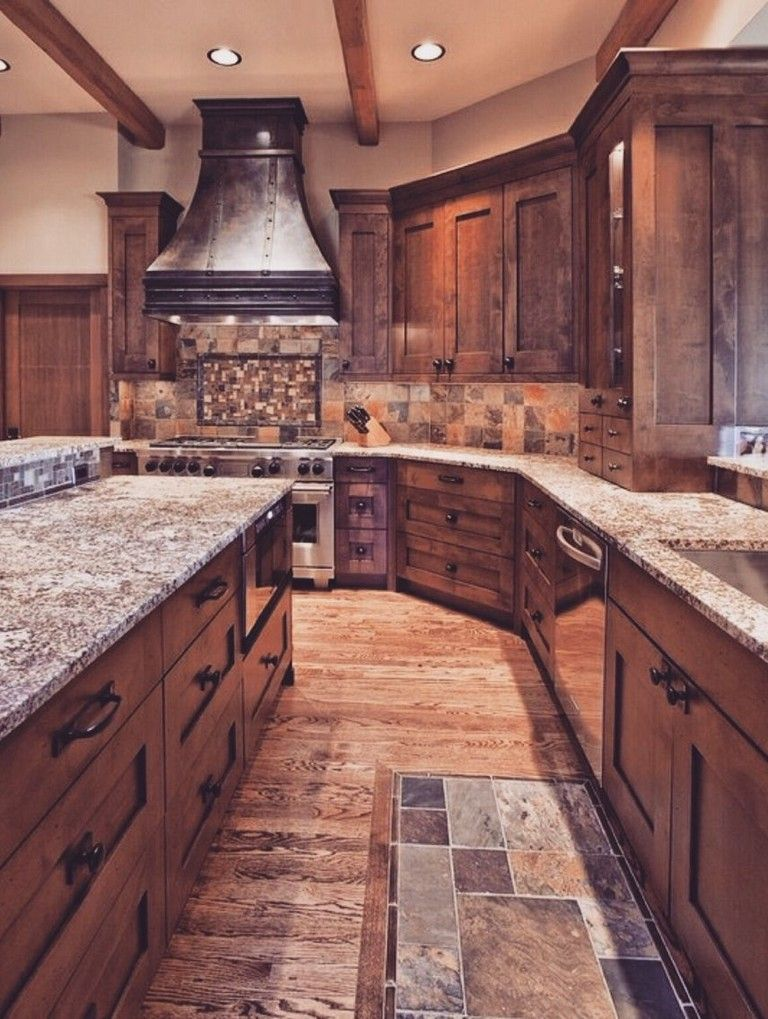 95+ Amazing Rustic Kitchen Design Ideas Kitchen Design  Decor