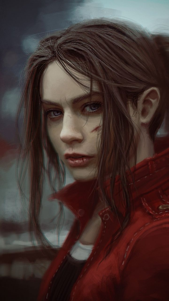 Woman Claire Redfield Video Game Resident Evil 2 720x1280 Wallpaper Resident Evil Resident Evil Game Redfield