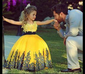 Flower Girl Dresses,Handmade Princess Flower | Prom Dresses - Kids