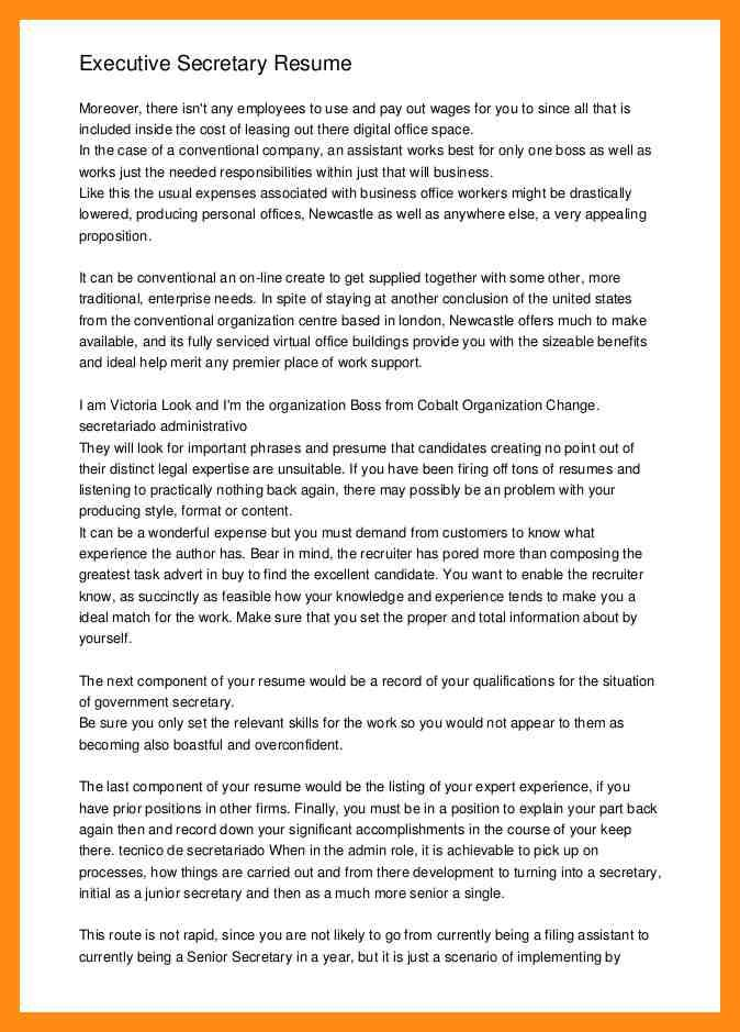 Professional Resume For Bernadette Brooten - Vision specialist - new secretary certificate sample