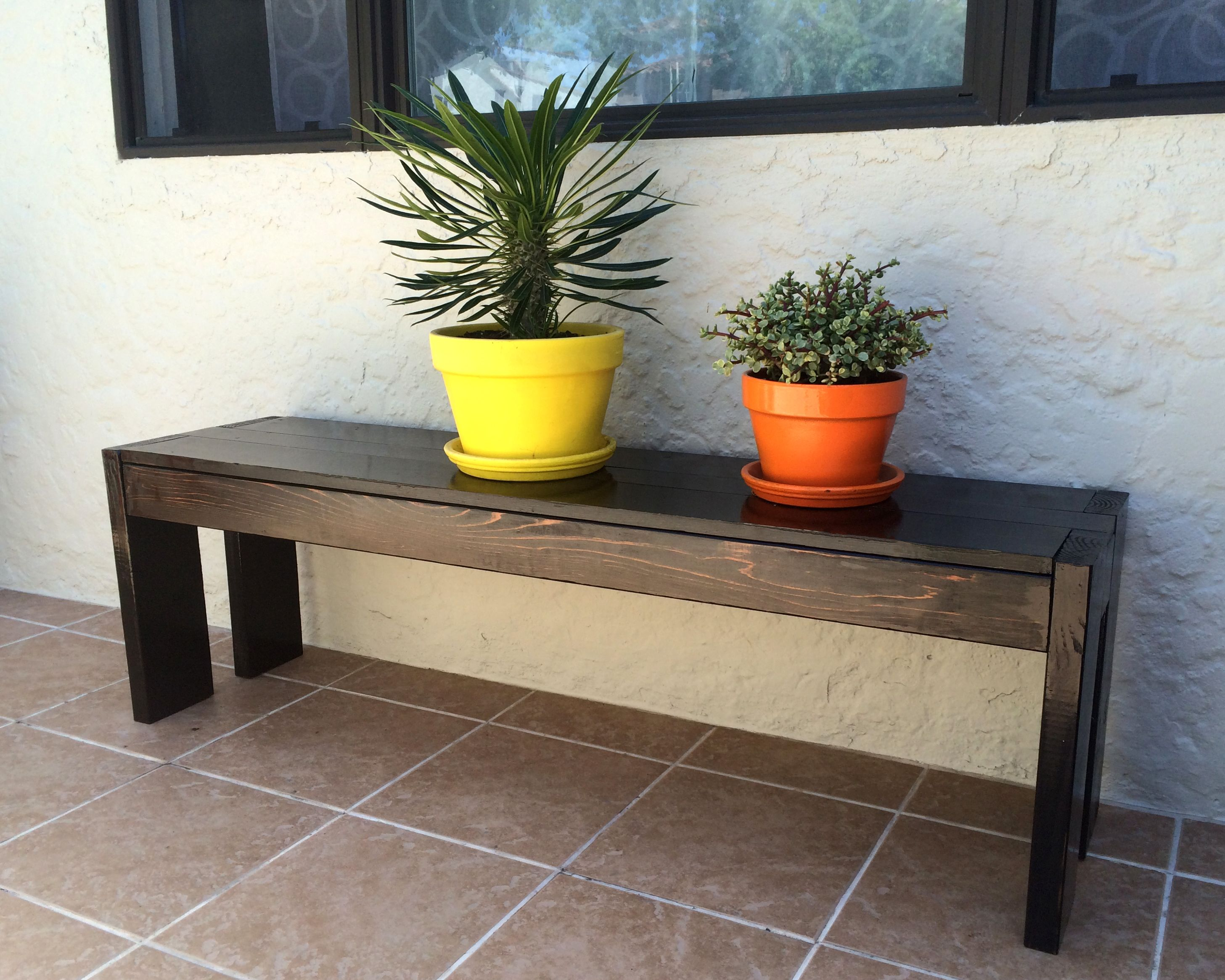 Front porch bench do it yourself home projects from ana white front porch bench do it yourself home projects from ana white solutioingenieria Choice Image