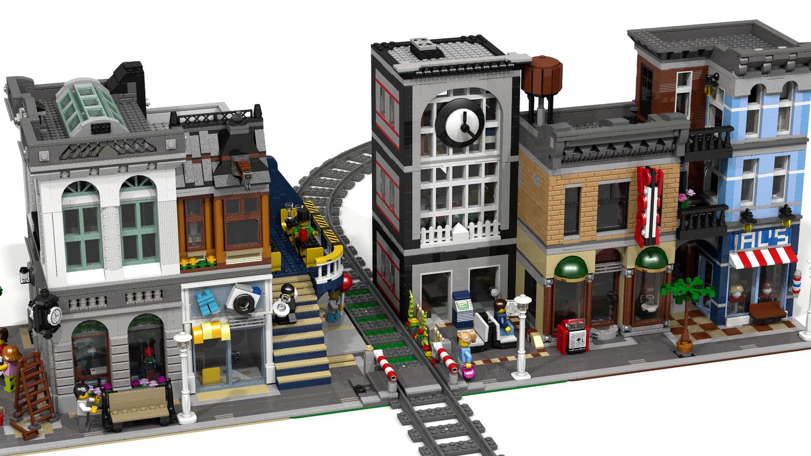 Ideas Lego Modular StationLegos Train Product tQCrdsh