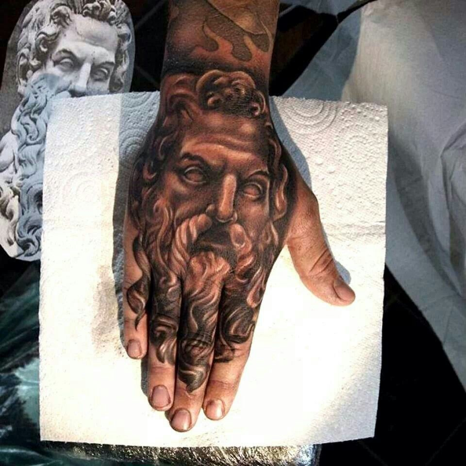 Greek God Hand Tattoo Greek Tattoos